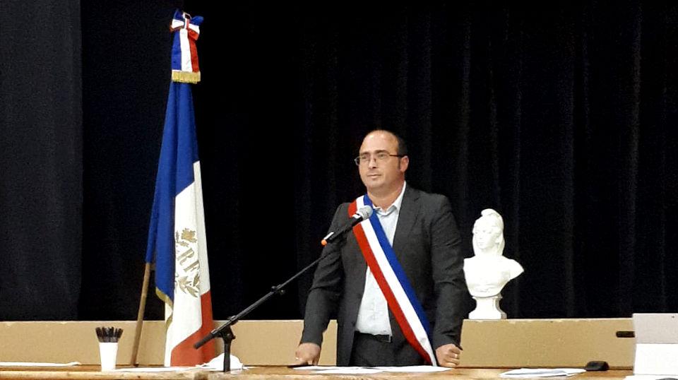 Christophe Miqueu Maire de sauveterre de guyenne 2020