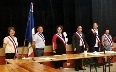 Discours d'élection de Christophe Miqueu, nouveau Maire de Sauveterre de Guyenne